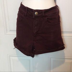 American Eagle shorts 🩳💜
